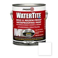 Zinsser Watertite Mould and Mildew Proof Waterproofing Paint Concrete Masonry