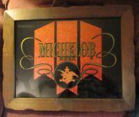 """Michelob Vintage Beer sign Wood Framed 15"""" x 19"""" Anheuser Busch"""