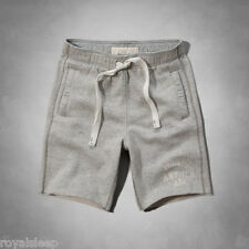 ABERCROMBIE & FITCH Athletic Men's Fleece Gym Shorts $50 **BNWT**  A&F