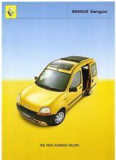 Renault Kangoo Estate Helios 1.4 Limited Edition 2000 UK Market Sales Brochure