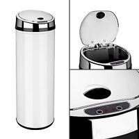 Dihl 30L 42L 50L Round White Kitchen Waste Automatic Sensor Bin