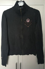 Ladies Hurley X Size Medium Dark Grey Cardigan