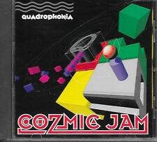 QUADROPHONIA - Cozmic jam CD Album 14TR Techno House 1991 (US RELEASE)