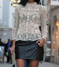 New Zara Woman mini leather skirt size M/38 blogger