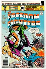 DC - FREEDOM FIGHTERS #3 - VF Aug 1976 Vintage Comic
