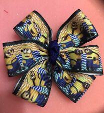 "Minion 3"" Plus hairbows Baby Magical Hairbow Non Slip Clip USA SELLER"