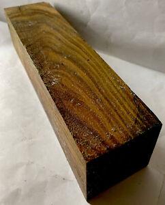 Exact Lignum Vitae Argentine Woodturning Blank 3x3x12 Tool Handles Thor Hammers