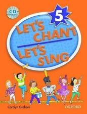 Let's Chant, Let's Sing Book 5 w Audio CD: SB 5 w Audio CD