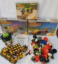 1984 BULK Matchbox LINKITS Robo-Racers Space Walkers Green Beast Puzzle Cube car
