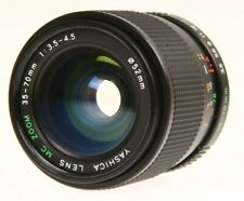 Yashica MC 35-70mm f/3.5-4.5 Zoom Lens for Contax & Yashica Cameras