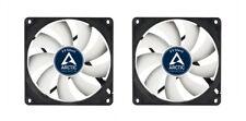 2 X Pack Arctic refrigeración F9 Silent Case Fan 92mm 90mm 1000 Rpm, 21.2 CFM el flujo de aire