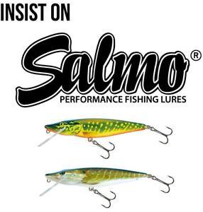 Salmo Floating Pike Crankbait / Pike Zander Lure Plug