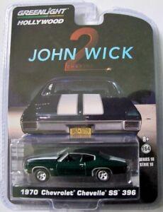 "1970 Chevrolet Chevelle SS 396 ""John Wick 2"" / Greenlight Hollywood 1:64"