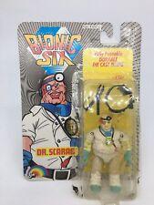"Rare Vintage Bionic 6 DR SCARAB 4"" Figure 1986 (Diecast) by LJN, 1980S"