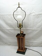 Hans Wrought Copper Candle Mold Table Lamp Primitive Colonial Home Decor