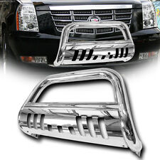Stainless Chrome Bull Bar Bumper Grill Grille Guard 07-13/14 Escalade/Avalanche
