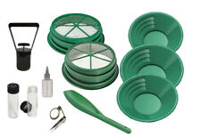 11pc Prospecting Mining Gold Panning Kit 3 Gold Pans 2 Classifiers & MORE!!!