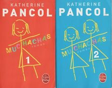 KATHERINE PANCOL MUCHACHAS TOME 1 + 2 poche + PARIS POSTER GUIDE