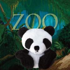 White/Black Panda Ponytail Pals Ponytail holder