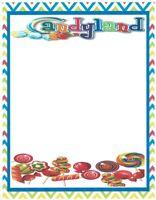 Candyland Stationery Printer Paper 26 Sheets