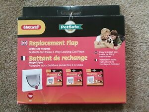 Replacement Cat Flap STAYWELL PetSafe suitable for 4 way locking cat flaps