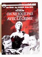 On ne joue pas avec le crime - Phil KARLSON / Kim NOVAK - dvd très bon état