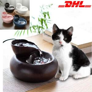 Trinkbrunnen Elektrischer Katze Water Fountain Automatischer Wasserspender