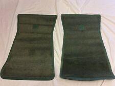 NOS 1972 73 74 75 76 77 CHEVROLET CHEVELLE CAMARO NOVA DK SAGE GREEN CARPET MATS