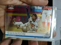 2019 Topps Chrome Dansby Swanson (3x) Card Lot Atlanta Braves