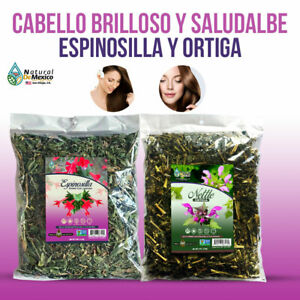 Espinosilla 4 oz y Ortiga 4 oz Herbs Infusion Para la Caida del Cabello HairLoss