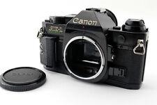*Exc+++++* Canon AE-1 Program 35mm SLR Film Camera Black Body From Japan 631459