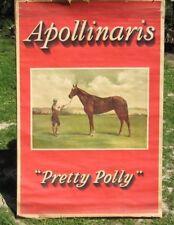 APOLLINARIS - Mineral Water Poster Add w/Pretty Polly - 1905 - 1/1?