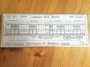 D&S Models GNR Luggage/Milk Brake etched brass kit