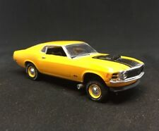 1970 Ford Mustang Gasser Drag Car Custom Built 1/64 Diecast Scale Race