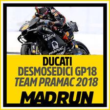 Kit Adesivi Ducati Desmosedici GP18 - Team Pramac MotoGP 2018 - Winter Test