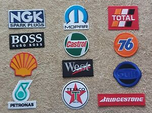 Set of 12 Motor Racing / Motor Sport Patches : Classic Cars Goodwood Festival f