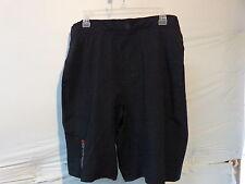 Louis Garneau Range Cycling Shorts Men's Large Black Retail $59.99
