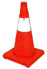 Eurow Reflective Safety Cone with Nighttime Led Lights Multipurpose Traffic 17