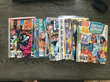 JUSTICE LEAGUE EUROPE 1 X 2 TO 35 ANNUAL 33 SONIC HEDGEHOG INSERT JLA BATMAN NM