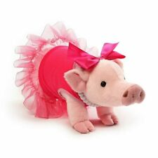 "Gund - Ballerina Pig - 11"" Prissy Everyday Nwt - Prissy And Pop"