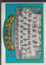 1972 TOPPS BASEBALL MILWAUKEE BREWERS TEAM #106 EX+ *57711