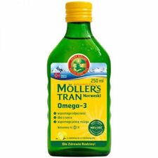 TRAN MOLLER'S NORWEGIAN (MOLLERS) LEMON FRAVOUR 250ml