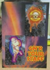 "Guns N' Roses Backstage Pass ""Use Your Illusion Tour 1993"" - Staff -"