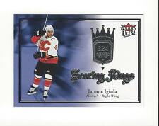 2007-08 Ultra Scoring Kings #SK3 Jarome Iginla Flames