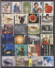 #03 ROYAUME UNI UNITED KINGDOM ANGLETERRE lot timbres oblitérés used stamps