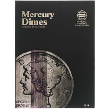 Mercury Dime, 1916-1945 Whitman Coin Folder 9014 Album, Book