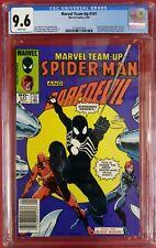 CGC 9.6 Marvel Team-Up #141 NEWSSTAND VAR 1st Black Spider-Man Costume 3-way Tie