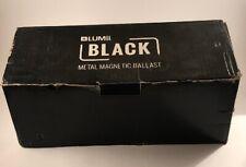 Lumii Black Metal Magnetic Ballast - In Box - Unused - See Item Description.