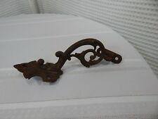 "Vintage! 8"" Cast Iron Ornate Shelf/Door Hardware"