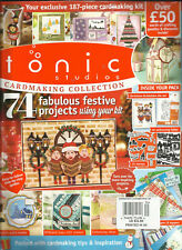 TONIC STUDIOI  CARDMAKING COLLECTION,, 2017  ISSUE, 3    ALL GIFTS ARE INCLUDED.